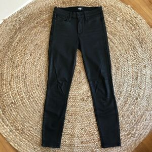 PAIGE Coated Ankle Jeans
